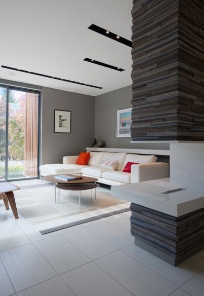 Proyecto casa minimalista en canada for Proyectos casas minimalistas