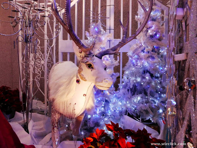 Reindeer decoration at Pavilion Mall KL taken with Panasonic Lumix DMC-G5 and Kit lens