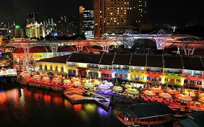 Clarke Quay Singapura