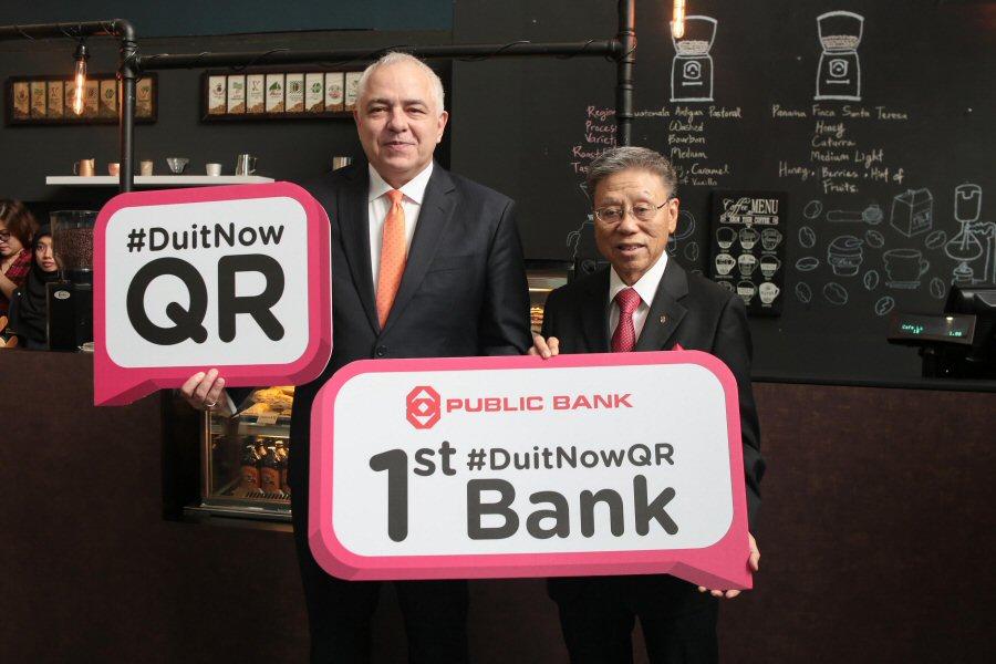 Public Bank - Paynet: Duitnow QR