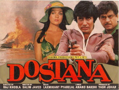 Download Dostana (1980) Hindi Full Movie HDRip 480p [500MB]   720p [1.2GB]