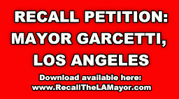 RECALL PETITION! TAKE ACTION NOW! RECALL GARCETTI!