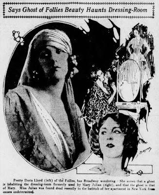 Doris Lloyd Mary Julian Ghost