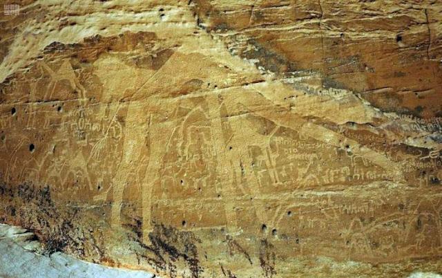 3000-year-old petroglyphs found in north-western Saudi Arabia