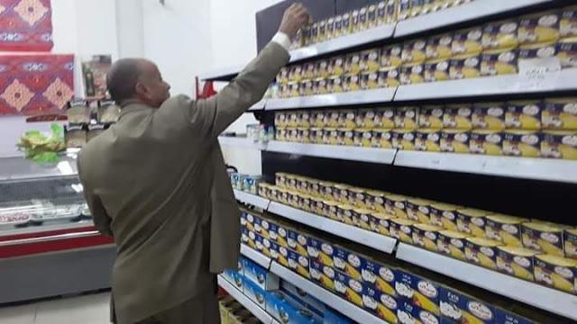 حملة مرورية مكبرة على الأسواق والمحلات التجارية بطما سوهاج