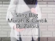 Sling bag murah dan cantik di Zalora || Unboxing Unisa Saffiano Effect Sling Bag