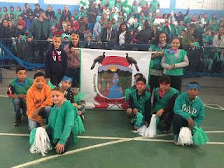 Segunda animada com a abertura do 15º Jogos Escolares de Jacupiranga