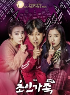 drama korea super family