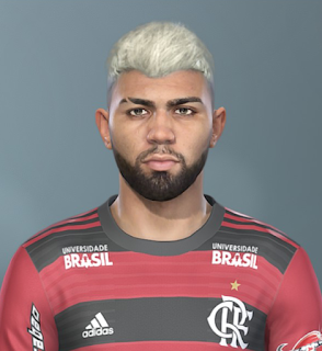 PES 2019 Faces Gabriel Barbosa by Sofyan Andri