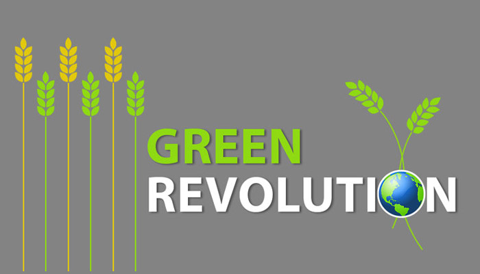 Green Revolution in Hindi