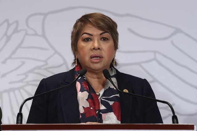 diputada Guadalupe Almaguer Pardo (PRD)