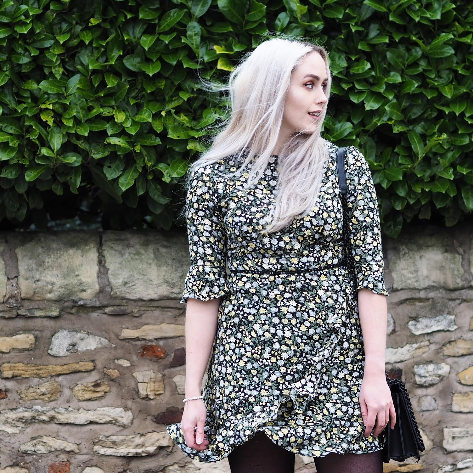 b8ba29b420ae Our Ditsy Floral Tea Dress featured by IzzyMarieHill on Instagram