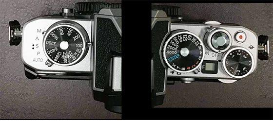 Nikon ZFC, вид сверху