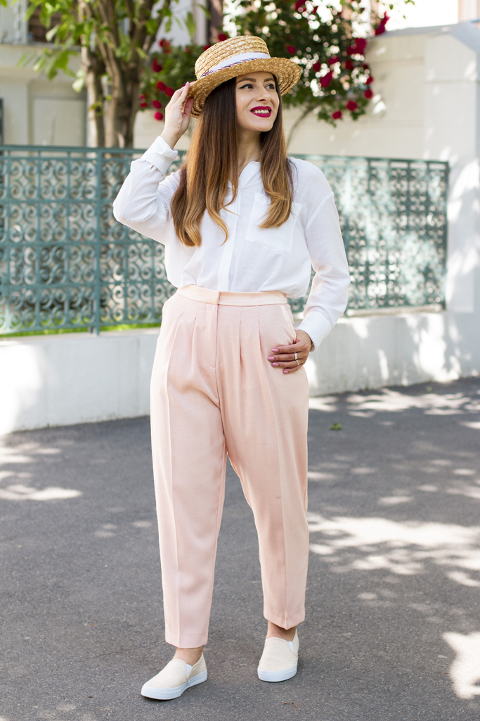 adina nanes spring look in light colours