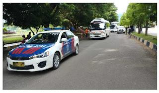 Polres Polman Kawal 31 Tenaga Medis Dari Jakarta Untuk Bantu Korban Gempa Di Sulbar