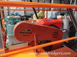 small sand dredge