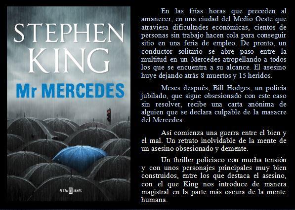 Mr. Mercedes de Stephen King