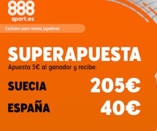 888sport superapuesta Euro 2020 Suecia vs España 15 octubre 2019