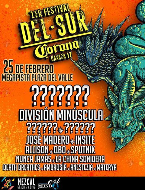 festival del sur corona 2017 oaxaca