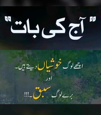 Quotes - Urdu Quotes - 2 lines Urdu Quotes - Quotes of the Day - Daily Quotes - Quotes For facebook - Urdu poetry World