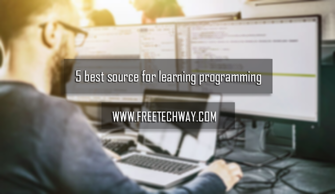 5 Best source for learn programming :