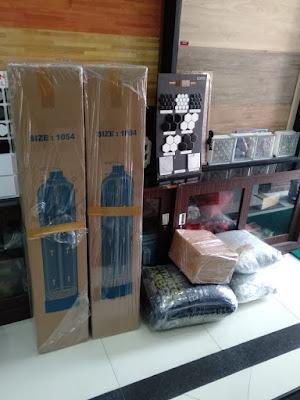 pengiriman filter air Dr.Toya ke Ambon