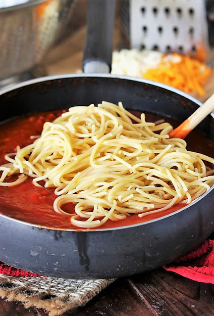 How to Make Baked Spaghetti Image