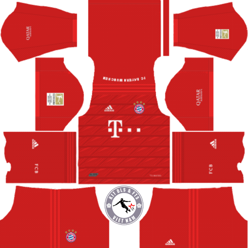 Kits Bayern Munich 2019 - 2020 Dream League Soccer 2019 & First Touch Soccer