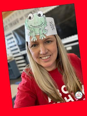 frog lifecycle headband