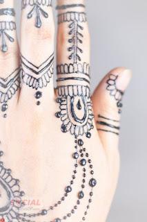 Simple Mehndi Design for finger 2019