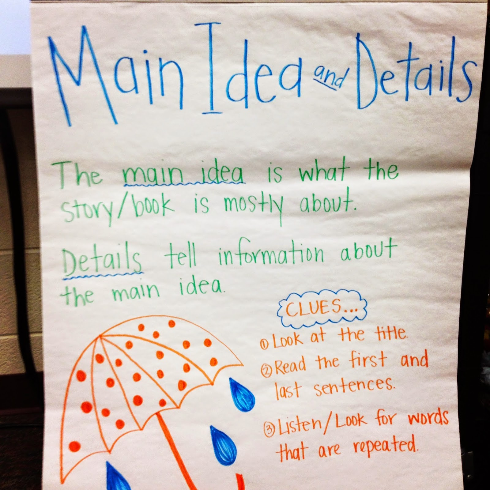 Secrets Of The Second Grade Sisters Main Idea And Details