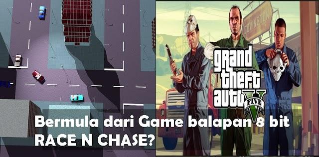 Gak Nyangka ,Ternyata Begini Awal Mula Game GTA