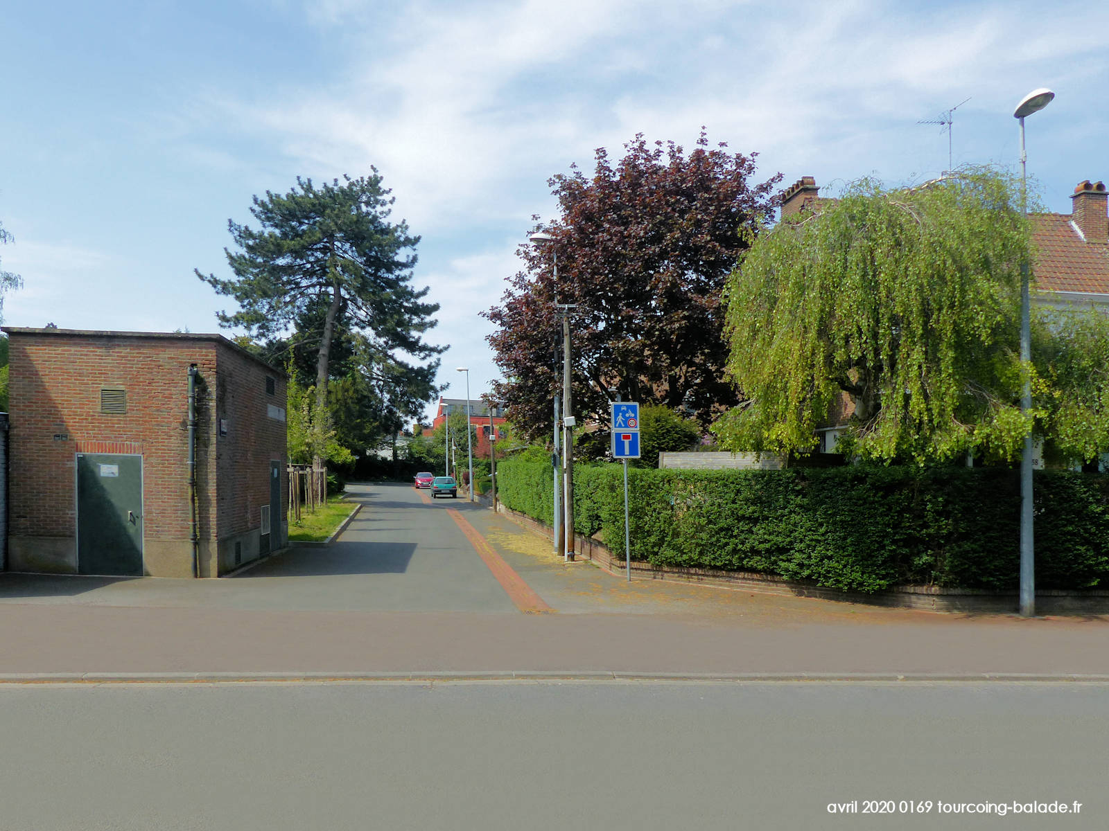 Impasse Van Dyck, Tourcoing 2020