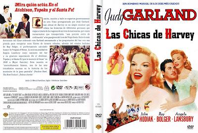 Carátula dvd: Las chicas de Harvey 1946