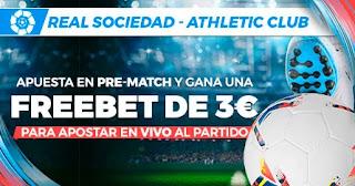 Paston promo Real Sociedad vs Athletic liga