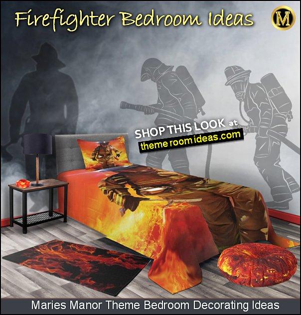 firefighter bedroom ideas firemen wall decals firefighter bedding fireman bedrooms