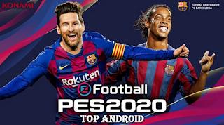 تحميل لعبة 2020 pes apk للأندرويد لكرة القدم