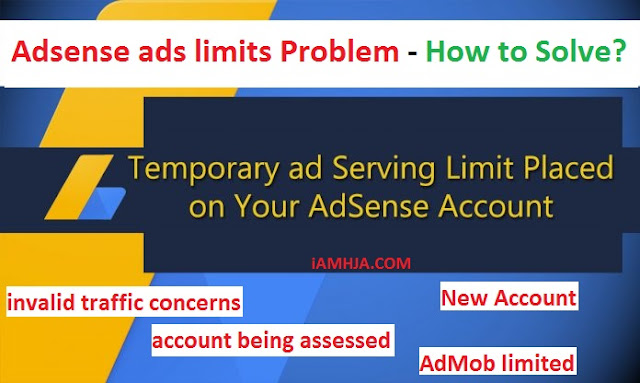 Adsense ads limits Problem