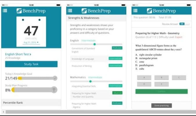 Aplikasi iPhone - BenchPrep
