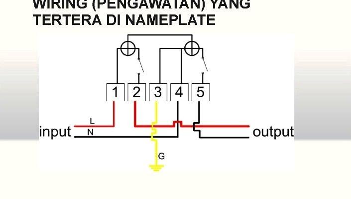 Hemat Listrik KWh Meter Prabayar Hexing HE120 5 Terminal