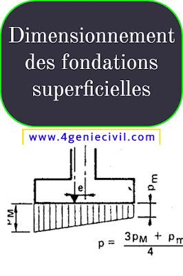 dimensionnement des fondations superficielles - pdf