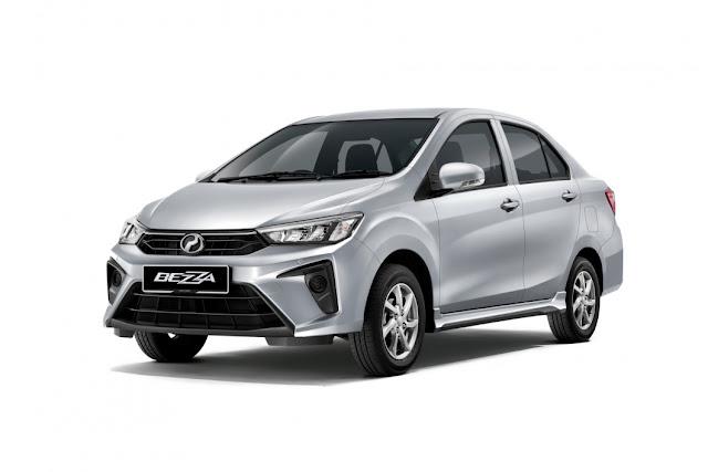 Perodua Bezza 2020 berharga RM34,580