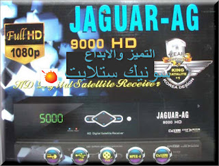 احدث ملف قنوات JAGUAR-AG 9000 HD