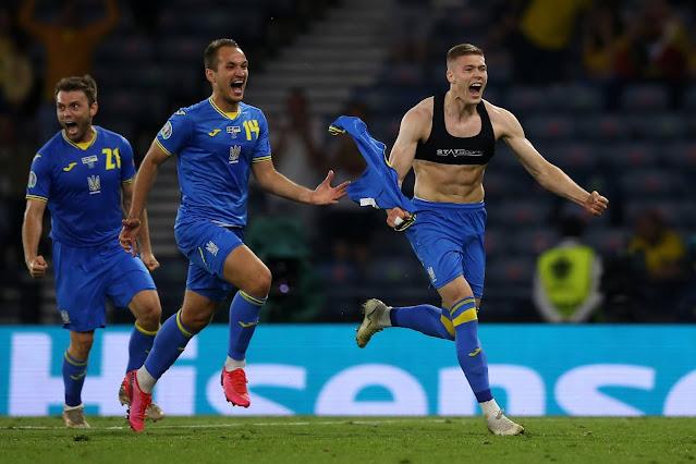 Dovbyk Ukraine vs Sweden - Euro 2020