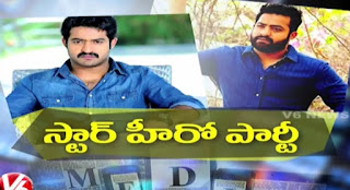 Jr NTR Plans To Invite Media For Birthday Party  Tollywood Gossips