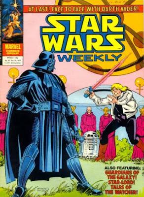 Star Wars Weekly #87, Luke Skywalker vs Darth Vader