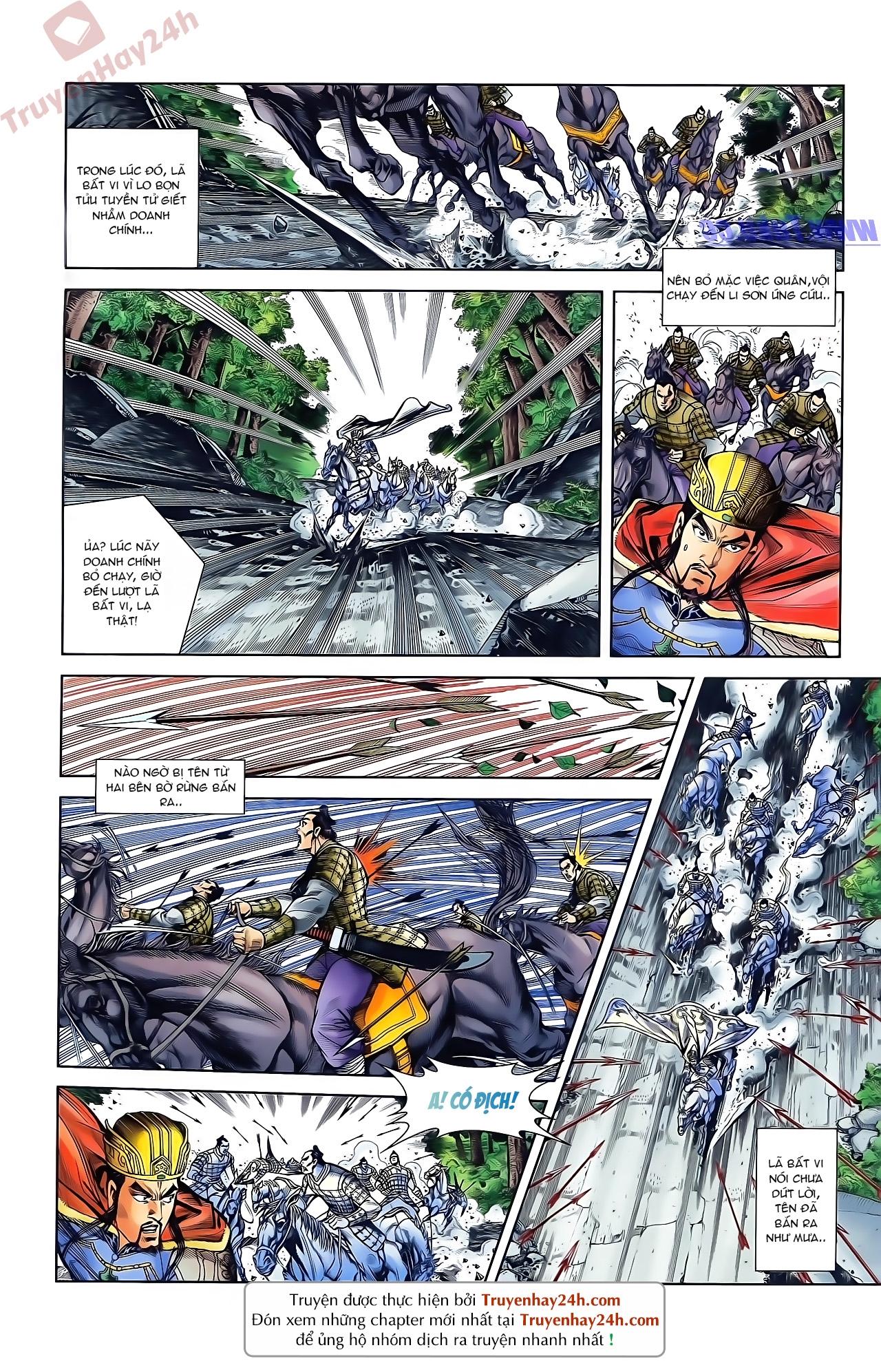 Tần Vương Doanh Chính chapter 45 trang 15