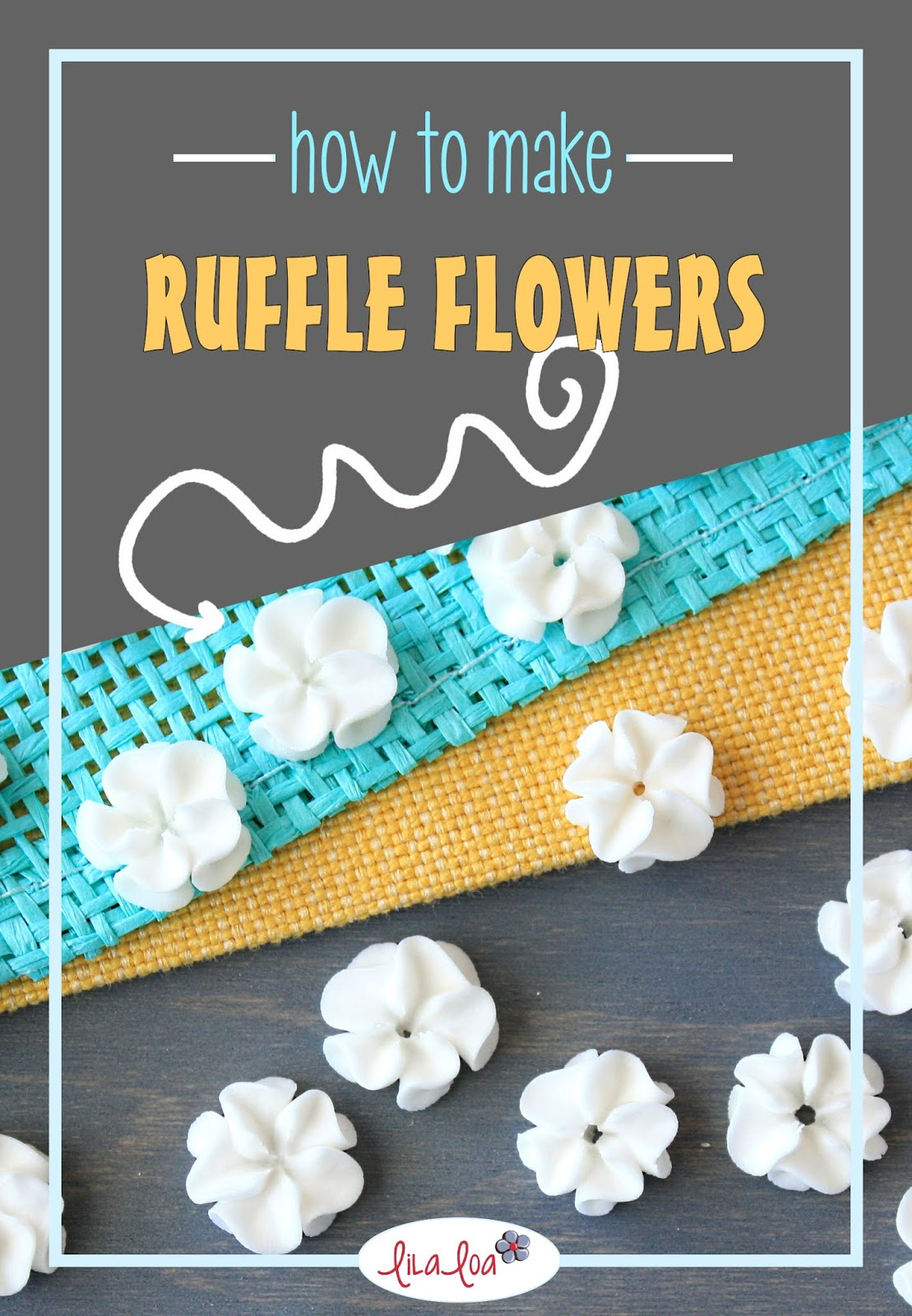 piped royal icing flowers