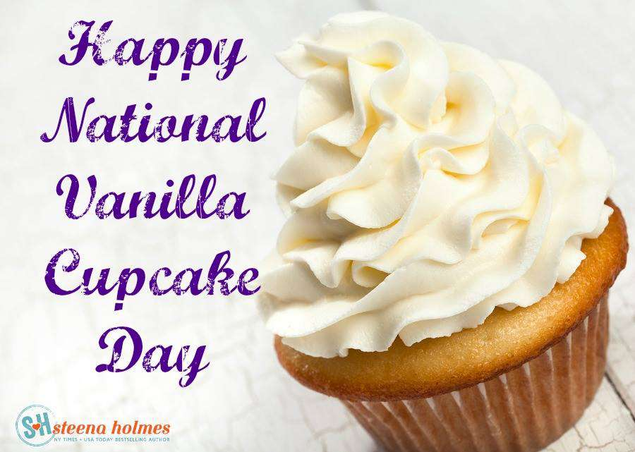 National Vanilla Cupcake Day Wishes Photos