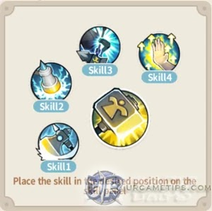 Lumia Saga: DPS Adjudge Skill Build